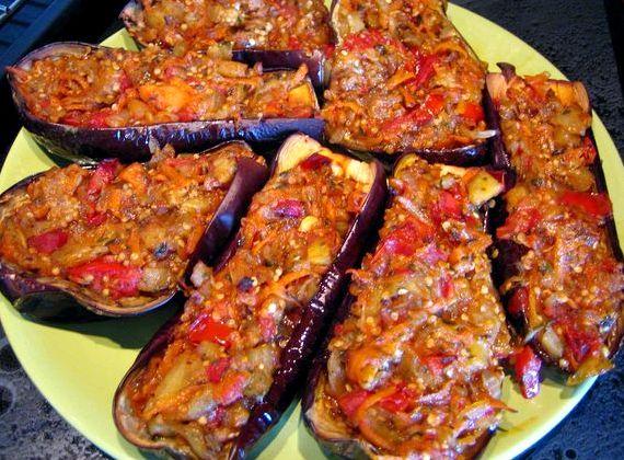 Запеченные баклажаны в духовке пошаговый рецепт с фото