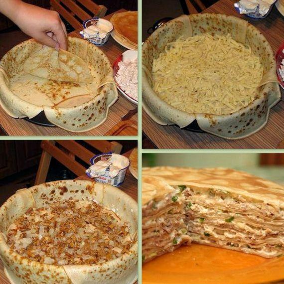 Как сделать блин торт 295