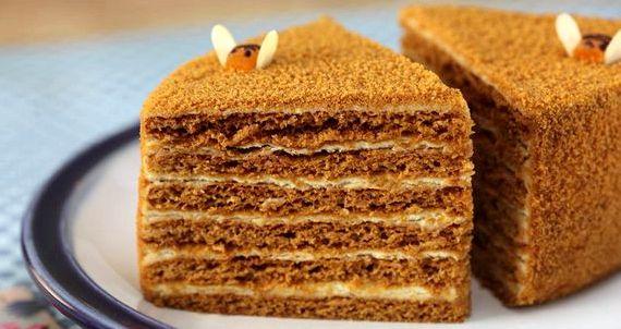 Торт медовик классический без сметаны рецепт с фото пошагово