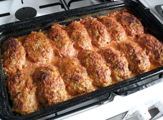 Голубцы рецепт пошагово с фото в духовке в сметане
