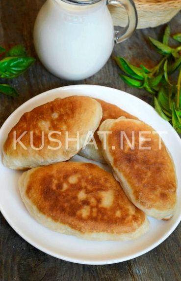 Пирожки с грибами жареные пошаговый рецепт