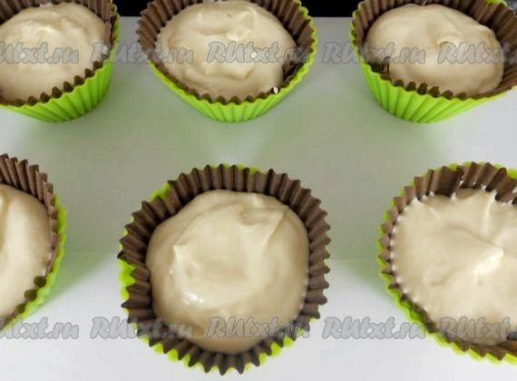Кексы в бумажных формочках рецепт с пошагово