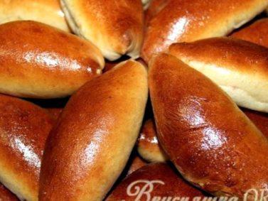 Тесто для пирожков с сухими дрожжами пошаговый рецепт с