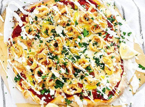 Рецепты быстрое тесто для пиццы с фото