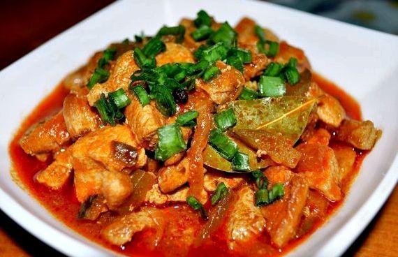 Азу по татарски с солеными огурцами рецепт с фото с картошкой
