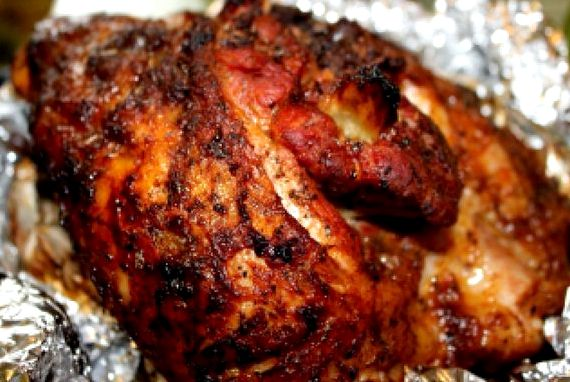 Буженина из свинины в духовке в фольге пошаговый рецепт с фото