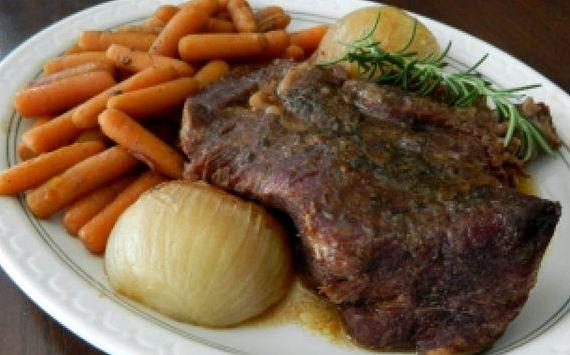 Буженина в духовке из говядины в фольге пошаговый рецепт