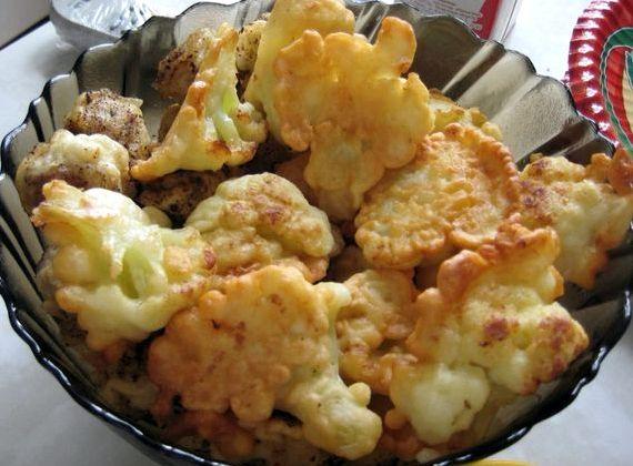 как готовить цветную капусту в кляре пошаговый рецепт