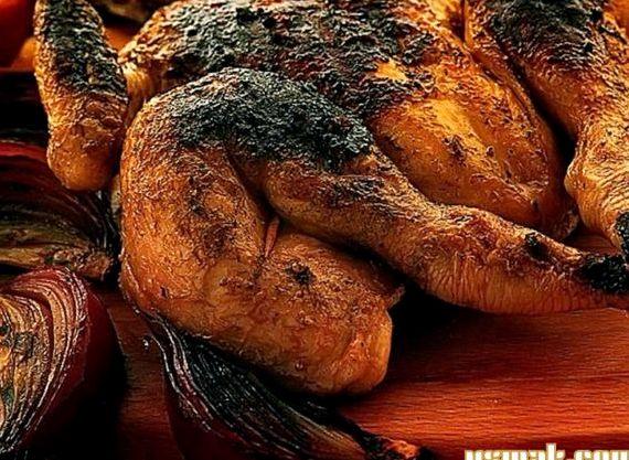 Цыплята табака рецепт приготовления в духовке