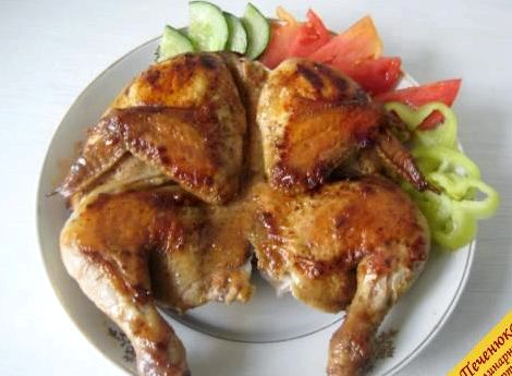 Цыплёнок табака на сковороде рецепт с фото