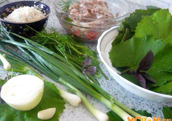 Долма рецепт приготовления из листьев винограда