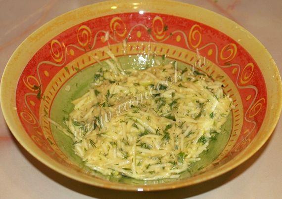 Драники из кабачков рецепт с фото пошагово на сковороде