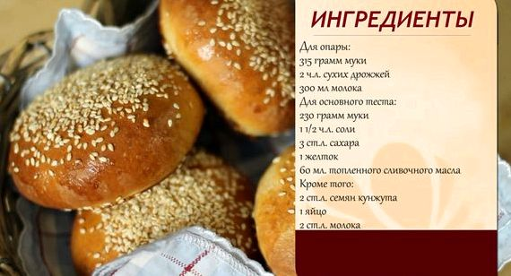 Гамбургер в домашних условиях рецепт фото как в макдональдсе
