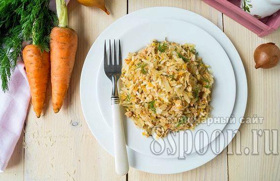 Голубцы ленивые рецепт с рисом и фаршем в духовке