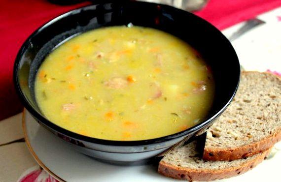 Гороховый суп пюре рецепт с фото с пошаговый рецепт