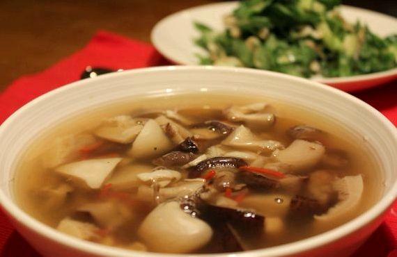 Грибной суп из шампиньонов рецепт с фото пошагово