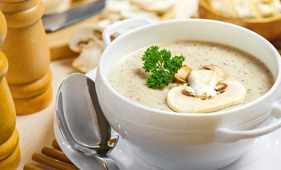Грибной суп из шампиньонов с плавленным сыром рецепт с фото