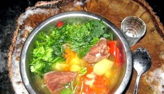 Харчо рецепт классический из баранины пошаговый рецепт с фото