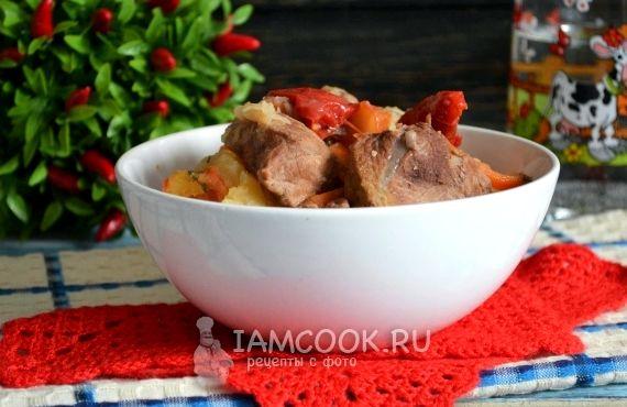 Хашлама из говядины по армянски рецепт с фото