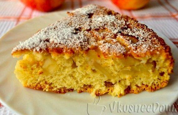 Как приготовить яблочный пирог в домашних условиях простой рецепт