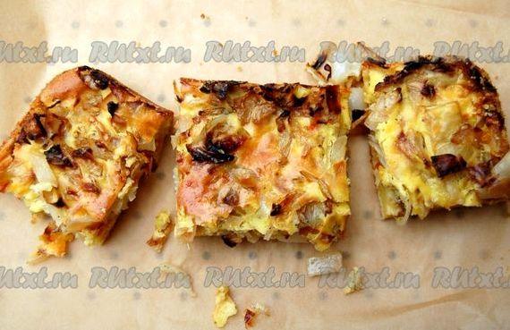 Как приготовить пирог с капустой в духовке пошаговый рецепт с фото