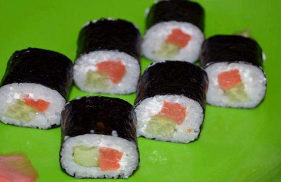 Суши и роллы 20 рецептов с фотографиями 54