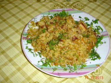 Рецепт узбекского плова со свининой в домашних условиях