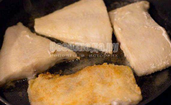 Как вкусно пожарить камбалу на сковороде рецепт с фото