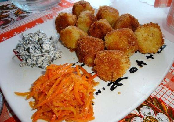 Картофельные шарики из пюре рецепт с фото