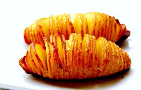 Картошка гармошка в духовке рецепт с фото