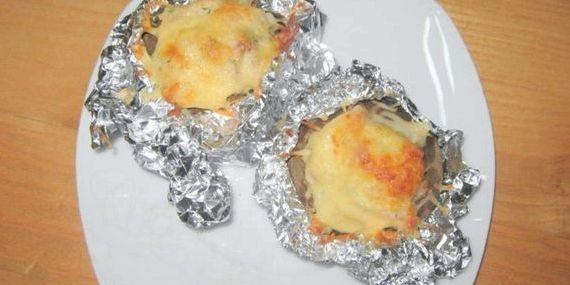 Картошка в духовке рецепт с фото пошагово в фольге в духовке