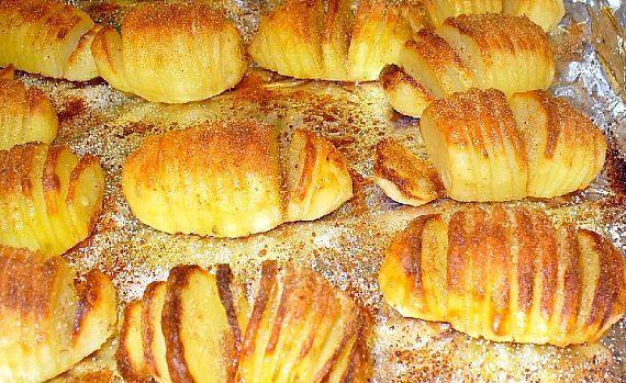 Картошка в духовке в фольге с салом рецепт с фото