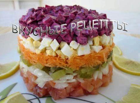Классический рецепт селёдки под шубой с фото пошагово