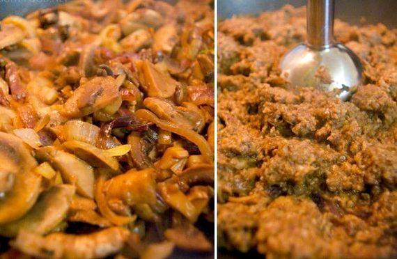 Крем суп грибной со сливками из шампиньонов рецепт