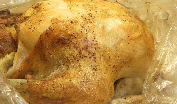 Курица в духовке в пакете для запекания рецепт