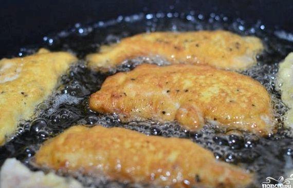 Куриное филе в кляре рецепт с фото на сковороде