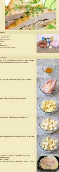 Куриные ножки в духовке с картошкой рецепт с фото пошагово