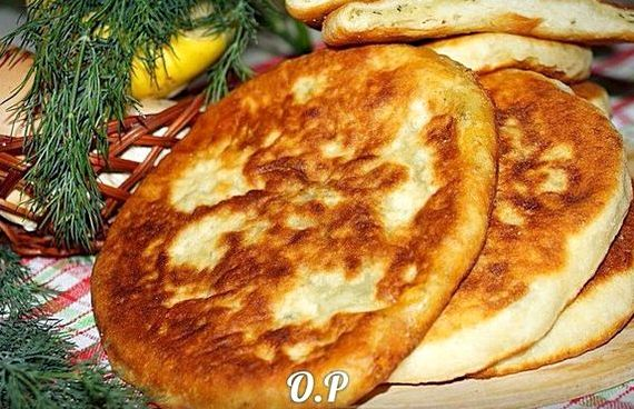 Лепёшки с картошкой на сковороде рецепт с фото