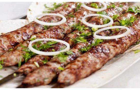 Люля кебаб рецепт из говядины и свинины на мангале рецепт