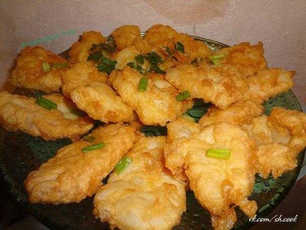 кляр для рыбы простой рецепт с фото пошагово в домашних условиях