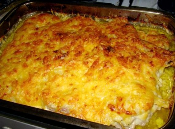 Мясо по французски в духовке с картошкой и грибами рецепт с фото