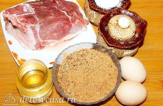 Отбивные из свинины рецепт с фото в духовке с помидорами и сыром