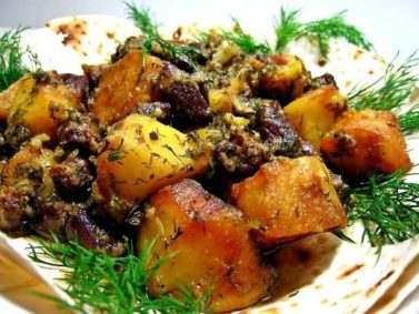 Салаты с печенью » Кулинарные рецепты с фото