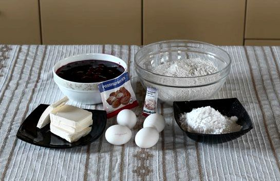 Печенье венское с вареньем пошаговый рецепт с фото