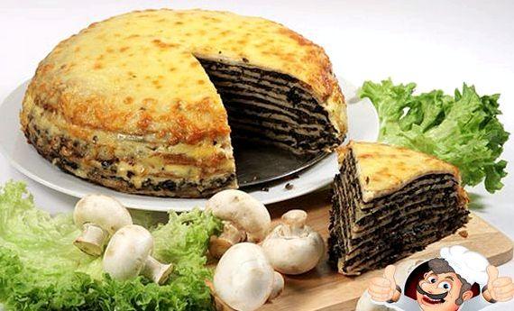 Печеночный торт из говяжьей печени рецепт пошагово с фото