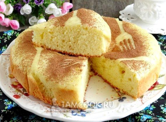 Пирог на сковороде без духовки рецепт с фото