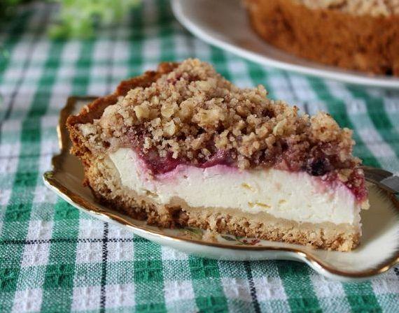 Пирог с смородиной рецепт с фото быстро и вкусно