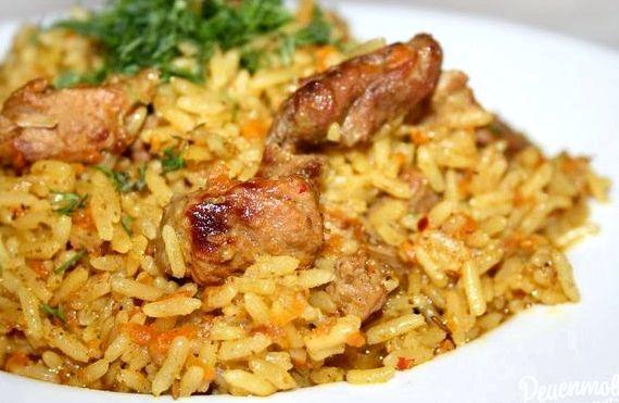 Плов узбекский с курицей рецепт с фото пошагово