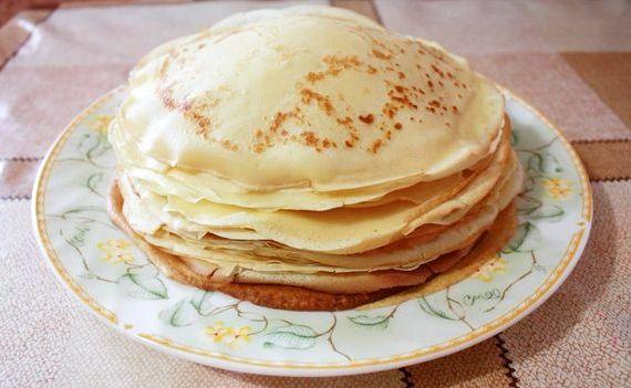 Рецепт блинчиков с фото на молоке пошагово