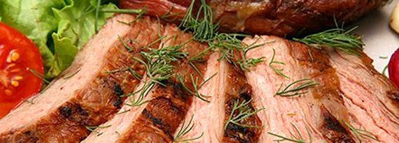 Рецепт буженины из свинины запеченной в духовке в фольге